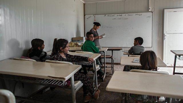 Sinjar school