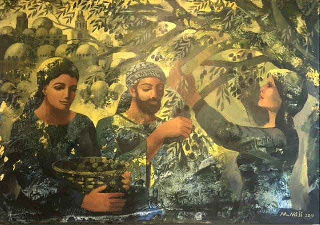 olive Harvest by Maher Naji Gaza Palestinesm.jpg