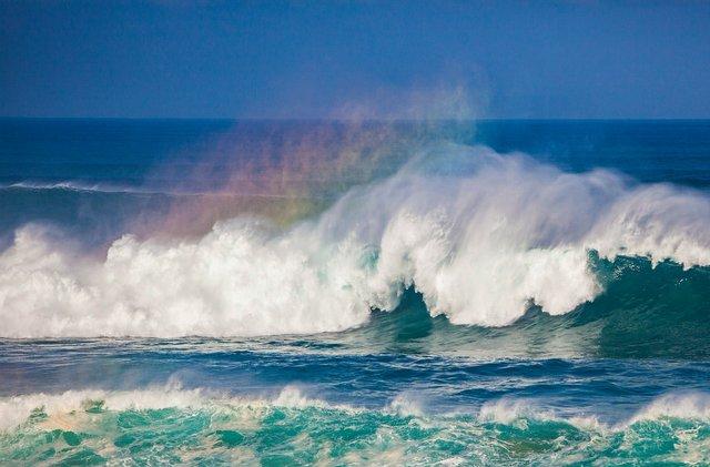 Rainbow wave