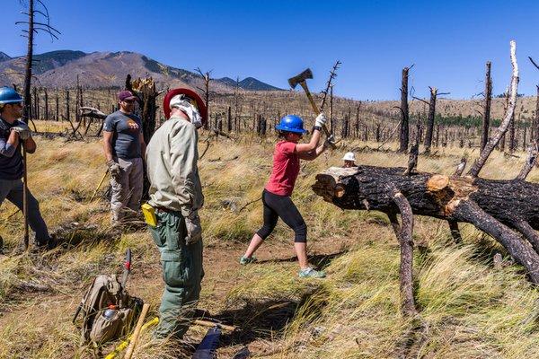 [DRAFT] Deer Hill Trail: National Public Lands Day 2017