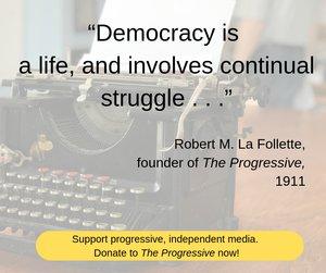 Ad - fighting bob quote donate
