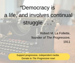 Ad - fighting bob quote donate