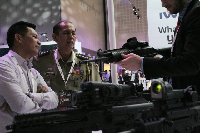Israel weapons expo 1