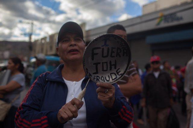 Honduras protest