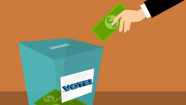 money politics voting