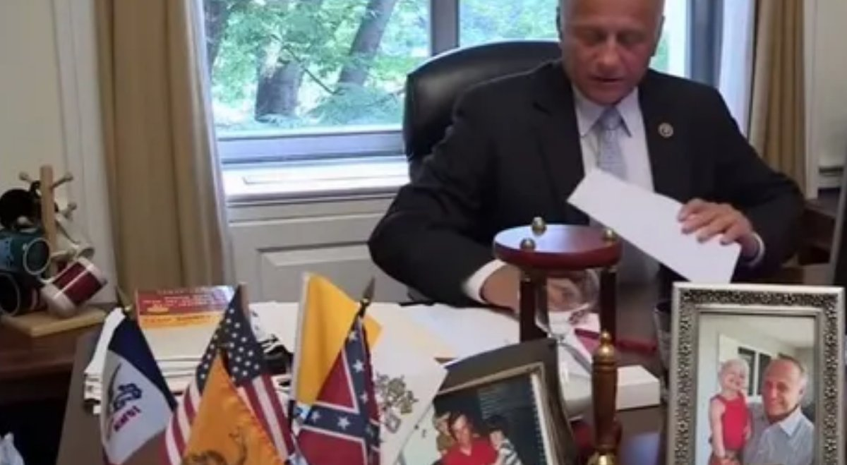 Steve King: Confederate Soldiers Died 'Putting an End to' Slavery