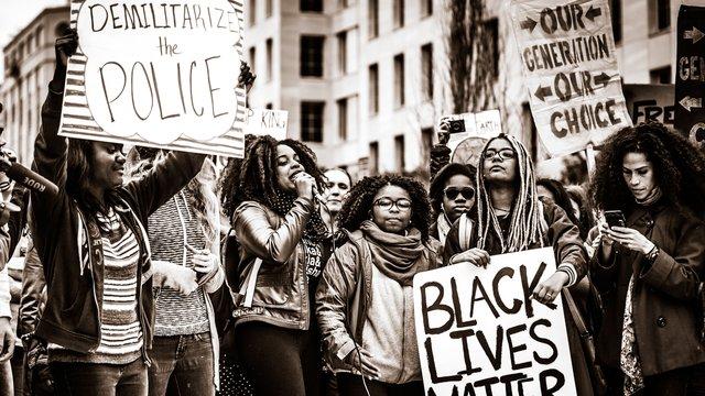 Demilitarize the Police, Black Lives Matter