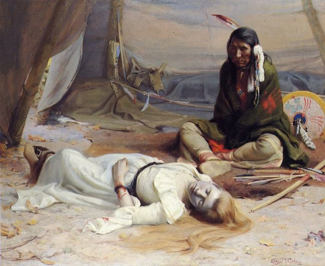 E._Irving_Couse,_'The_Captive',_1891.jpg