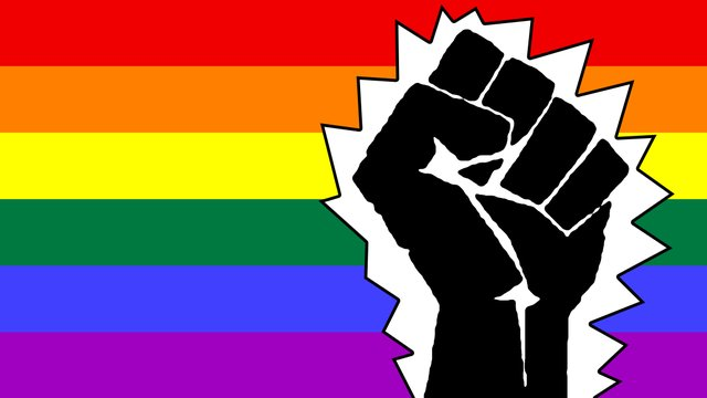 LGBT / black power