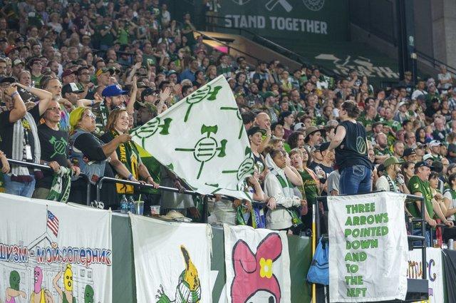 SOCCER: AUG 31 MLS - Real Salt Lake at Portland Timbers