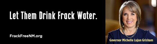 Madeson New Mexico no fracking billboard 2
