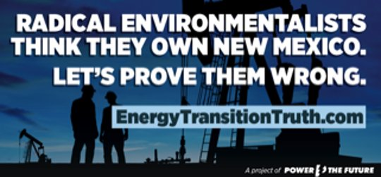 Madeson New Mexico no fracking billboard 4
