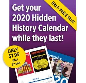 HalfPrice 2020 Calendar