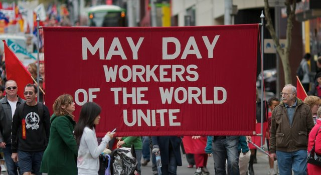 May Day in Melbourne