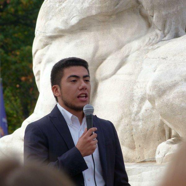 José Arnulfo Cabrera speaking at Ignatian Family Teach-in in Washington, D.C., 2017, photo by ISN staff..jpg