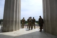 Mississippi National Guard at the Lincoln Memorial