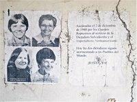 Memorial to Four Churchwomen