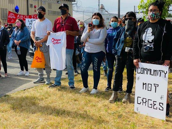 La Resistencia protest