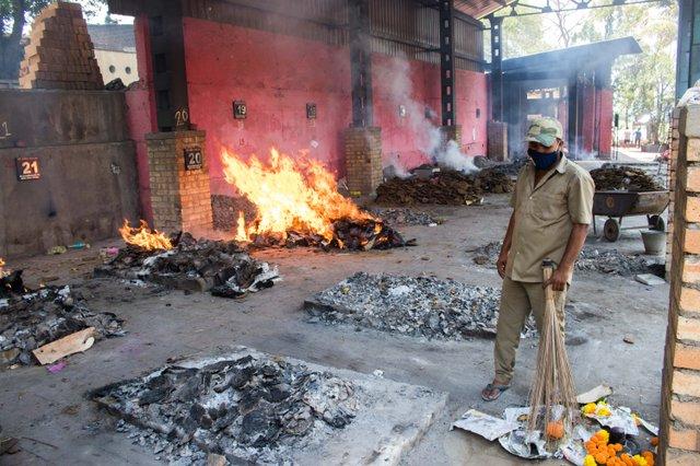Kholapur crematorium grounds