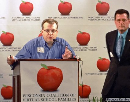 "Brian Fraley, Communications Director for MacIver Institute and ""IT guy"" for the Wisconsin Coalition of Virtual School Families."