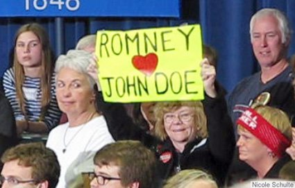 Walker protests at Romney event in Wis..