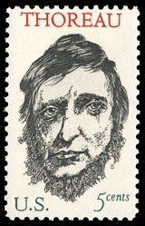 Thoreau 1967 stamp