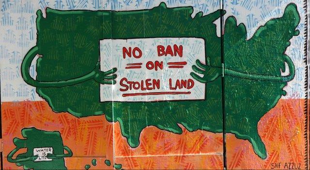 No Ban on Stolen Land