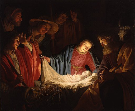 512px-Gerard_van_Honthorst_-_Adoration_of_the_Shepherds_(1622).jpg