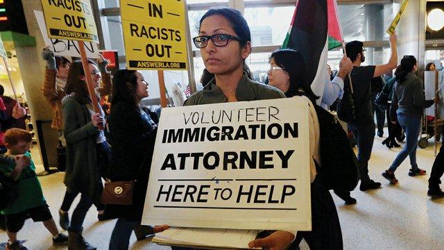 Trump Travel Ban Los Angeles