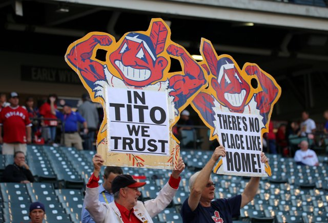 dfae2a20f19b5 Chief Wahoo Heads for the Showers - Progressive.org