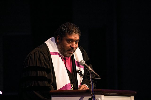 DC: Bishop William J. Barber II Speaks At Howard University