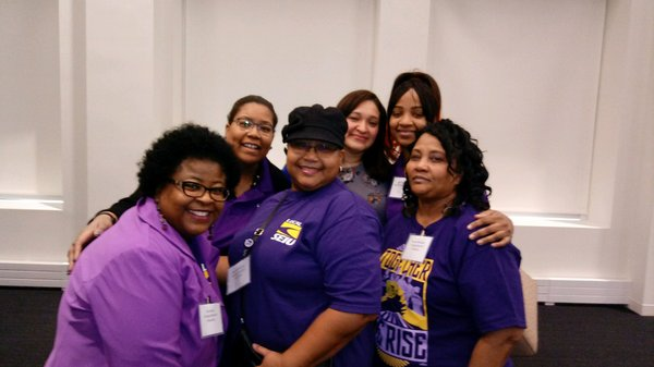 sherry nickerson with seiu leaders.jpg